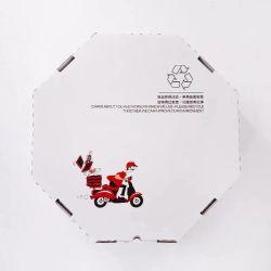 高品質のカスタマイズカラーと形状のピザパッキングボックス テイクアウトまたはピクニックとパーティー