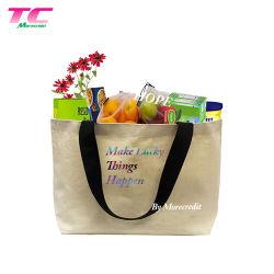 Eco-Friendly Canvas Bag katoen Canvas Tote Boodschappentas Groot Keuze voor promotie