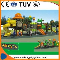 Sistemi di plastica del campo da giuoco dei bambini della Cina (WK-A190501)