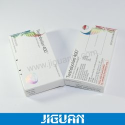 Het promotie Farmaceutische Peptide Verpakkende Vakje van het Document