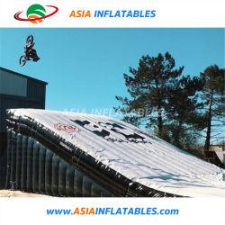 Serviço Pesado Big Esqui BMX gigante queda Salto insuflável acrobacias Saco de ar