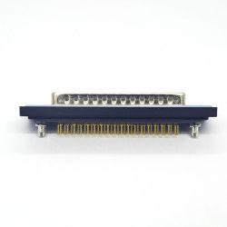 Port série montage droit D-SUB 37pin VGA mâle du connecteur de tête
