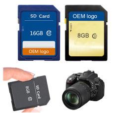 Classe OEM10 SDHC 8 Go et 16 Go et 32 Go à 64 Go 128 gig 256 G carte SD pour les caméras numériques, Voiture DVR