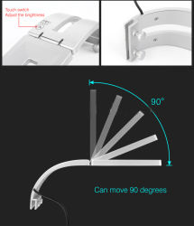 O Aquário de LED Light 5W para aquários descoberto sob 20 polegadas