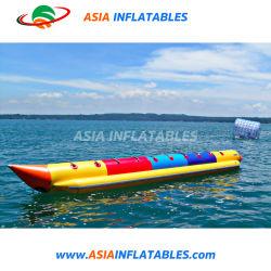 Voie unique pour le bateau banane gonflable 4-10 personne