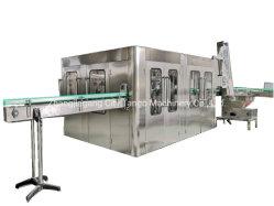 自動ガラスビンビールCSDの飲料オイルの液体のソーダ飲み物の天然水の清浄器の浄化の処置の液体のパッキング満ちるびん詰めにする機械