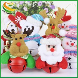 De leuke Klokken van het Kenwijsje van Kerstmis/de Klokken van Kerstmis van de Decoratie