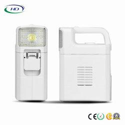 L'eau saline projecteur portable LED alimentées avec la Banque d'alimentation