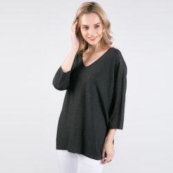 Kashgar-85%Silk & de 15%Cashmere Gemengde Sweater van de Stijl van Dames Nieuwe
