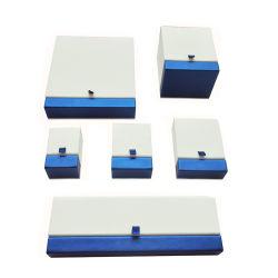 Cas d'affichage de l'emballage en bois Papier Regarder un emballage cadeau boîte à bijoux
