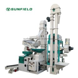 20tpd Hochwertige vollautomatische Reis-Fräsmaschine Preis kombiniert Komplettes Set Agro Reismühle Maschine