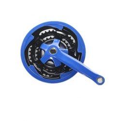 Цикл велосипеда велосипед тройной цепи колеса кольцо на 1 датчика положения коленчатого вала 28 38 48t X 3/32