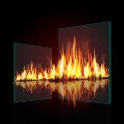 Vetro Tempered libero Rated del fuoco di alta qualità per la finestra della costruzione