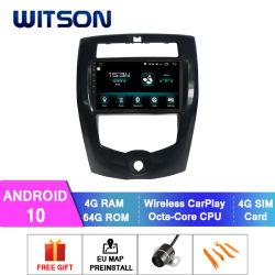 نظام صوت السيارة لنظام شاشة اللمس فيتسون أندرويد 10 لنظام نيسان 2013-2016 Livina 4Gb RAM شاشة فلاش كبيرة في السيارة مشغل DVD