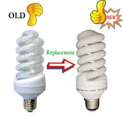 LEDの電球の14W 18W 40W T4の螺線形の省エネランプ