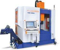 금속 부속 기계설비 가공을%s CNC 공구 5 축선 기계로 가공 센터 X/Y/Z/B/C 축선 (x-축 치기 700mm) 절단기 공구 (VMC-600U)