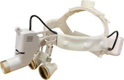 화이트 컬러 KS-W01, 3.5X 루페 M350 LED 수술용 헤드라이트 돋보기