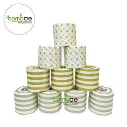 Het standaard Document van het Toiletpapier van het Toiletpapier van Eco van de Grootte van het Broodje Vriendschappelijke