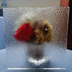 4mm 5mm 6mmの8mm明確で荒い鋳造物は区分のための転送されたガラスを模造した