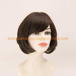 الشعر البشري الكامل مربوط باليد الشعر الصناعي مزيج الشعر بالجملة الصين الشعر ويغ للنساء