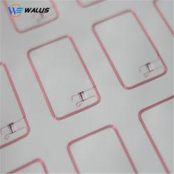 Contactless 스마트 카드를 만들기를 위한 A4 또는 다른 배치 PVC Prelam 상감세공 폴리탄산염 단단한 장