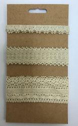 De textiel Met de hand gemaakte Kunsten van de Toebehoren DIY van het Kledingstuk en Katoenen van het Broodje van de Ambacht In orde makend Kant
