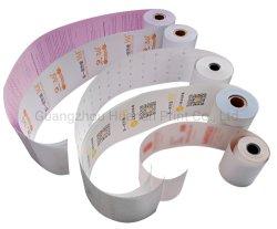 Напечатано тепловой рулона бумаги, можно настроить POS кассовых рулона бумаги
