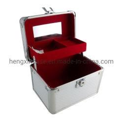 専門の卸し売りアルミニウム構成のトレインケースの芸術家の化粧箱