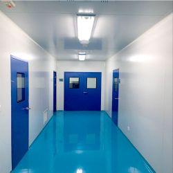 Alta calidad con certificado CE PU/ EPS/lana de roca/ Oxysulfate magnesio / aluminio / papel de pared y techo en forma de panal Sistema para el proyecto de sala limpia