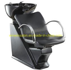 Блок управления для шампуня с черной и белой керамической бассейнов