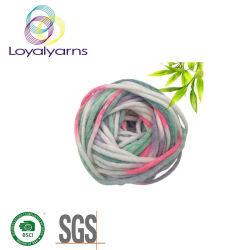 Hohes Massenacrylstrickgarn-Acryl-/reflektierende Faser gemischtes Garn Ly-P310