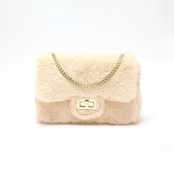 Marché de gros distributeur Designer dame femme marque PU Fluff Fashion Mini sac à main en cuir femmes Crossbody Jelly luxe sac d'embrayage de l'épaule de sac à main Dames