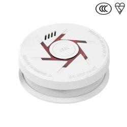 Detector de Fumaça Alarme de Incêndio Home ionização de segurança