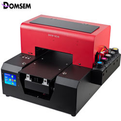 Недорогой компактный UV-планшетный струйный принтер формата A4 для мобильных устройств Чехол для телефона/ручка/акрил/дерево/металл/стекло