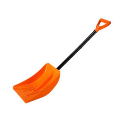Cargem Classic 54''Snow Shovel, 긴 일자 스노우 셔블, 플라스틱 스노우 셔블