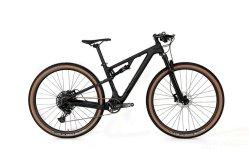 Twitter doux en fibre de carbone de la queue pleine absorption des chocs de vélo de montagne cross country de la course de vélo adulte châssis 21 pouces