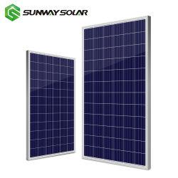 Sunway de paneles solares fotovoltaicos de alta calidad 340W el amanecer de paneles solares fotovoltaicos