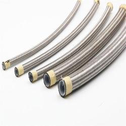Slang de op hoge temperatuur van het Roestvrij staal PTFE voor Stookolie
