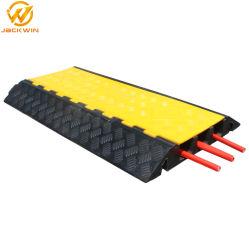 سلامة حركة المرور 1/2/3/4/5 دثار أسود ذو قنوات مع دثار أصفر PVC واقي الغطاء - منصات الكابل للأرضية الداخلية للخدمة الشاقة سلك مرحلة الحدث الخارجي