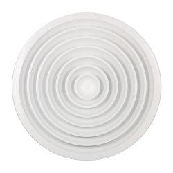 Plafond enduit de poudre d'aluminium rondes/Circulaire Diffuseur d'air pour système de CVC