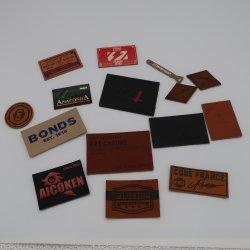 Heißer Verkauf qualitativ hochwertiges Logo Custom Leather Label für Bekleidung