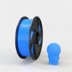 Multicolor muestra gratuita de 1,75mm PLA filamento impresora 3D.