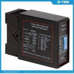جهاز كشف حلقة استقرائية أحادي القناة بجهد 12 إلى 240 فولت من التيار المتردد، وجهاز كشف ملف لموقف السيارات