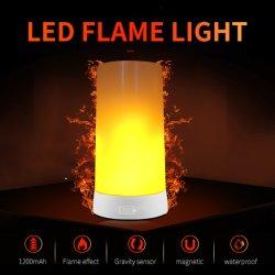 مصباح LED محمول قابل لإعادة الشحن مع شعلة LED للتحكم عن بُعد لمبة إطفاء الحرائق