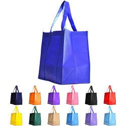 Venda por grosso não tecidos personalizados reutilizáveis Sacola de Compras para acções de promoção