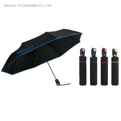 3 أقسام الفتح التلقائي للمظلة ذات اللون الثابت بلون الإسفنج