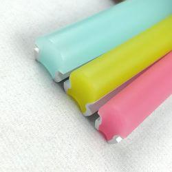 Une fixation aisée libre néon LED flexible en silicone de flexion de la corde de bande