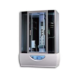 浴室のジャクージの渦(GT0531)が付いているガラス蒸気のシャワー室