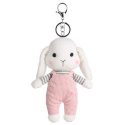 Giocattolo lungo Keychain della peluche del coniglio delle orecchie