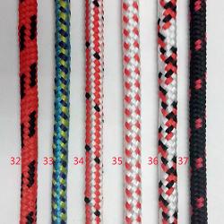 نايلون متعدد الألوان عالي الجودة 6 مم / مخفَّر متعدد الألوان / مخفَّر من القطن الحبل / السلك